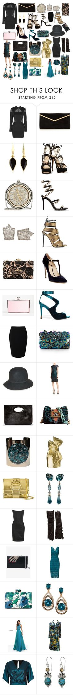"""Some of my favorite things #47"" by andyarana ❤ liked on Polyvore featuring Balmain, Isabel Marant, Alexander McQueen, René Caovilla, Tom Ford, Love Moschino, Charles David, Judith Leiber, Jacques Vert and Accessorize"