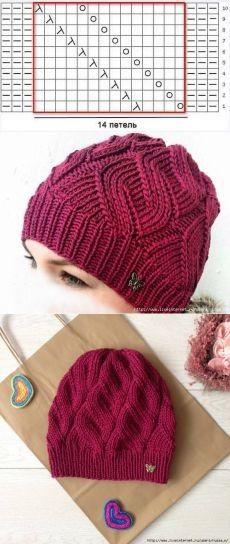 Cómo hacer gorro a Crochet para mujer - El Cómo de las Cosas Boina De  Ganchillo 9f55b53191a