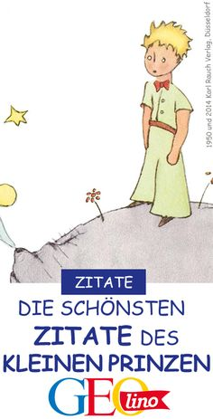 Der Kleine Prinz: Die schönsten Zitate Love and friendship are very important to the Little Prince. We have collected the most beautiful quotes. # Quotes # Little Prince # Wisdom # Children's Book Faith Quotes, Love Quotes, Gorgeous Quotes, Quotes Quotes, Plus Belle Citation, Motivational Quotes, Inspirational Quotes, Quotation Marks, The Little Prince