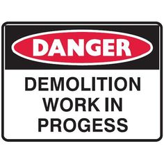 Danger asbestos Removal in Progress Danger Signs, Site Sign, Signage, How To Remove, Tips, Group, Construction, Safety, Creations
