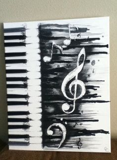 Black and white watercolor. Proud of my work.