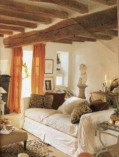 Eclectic Living Room...