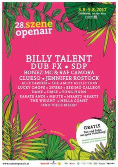 GoRockfest.Com: Szene Openair 2017 Lineup & Tickets Info