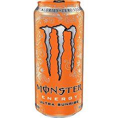 Monster Energy Drink Ultra Sunrise 16 Oz (12 Pack)