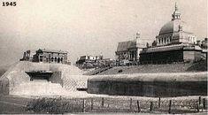 De sloop van de bunkers voor het Seinpost