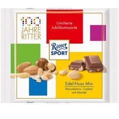 Happy Birthday, Ritter Sport! http://candyaddict.com/blog/2012/05/22/happy-birthday-ritter-sport/