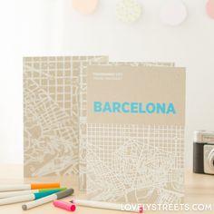 Mapa transparente - Barcelona #explore #travel #mug #deco #inspiration #memories #souvenir #bottle #accessories #cool #beautiful #cute #map #barcelona