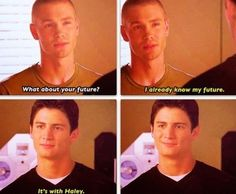 """Its with Haley"" Nawwww #ItsANaleyThing <3"