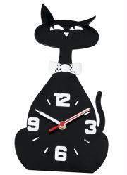 Relógio de Parede Gata Preto