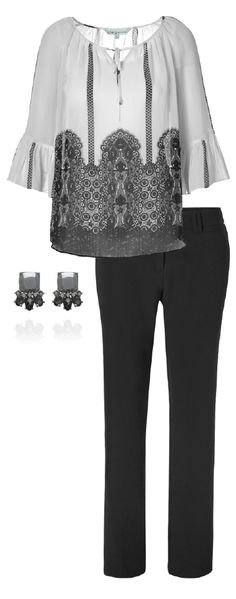 Look and feel your best! This printed peasant blouse is sure to keep you comfy and fabulous as you take on the day. An every day look with endless styling options, Peasant Blouse, Work Wardrobe, Comfy, Touch, Printed, Fun, How To Wear, Style, Fashion