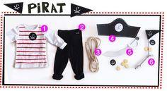 DIY Kostüm Pirat / Faschingskostüm für Kinder - Last Minute - zum schnellen Selbermachen ohne Nähen mit free printable für den Piraten Hut, Schwert und Piraten-Emblem. Mehr auf FAMILICIOUS.de