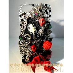 rocK passion iphone 5 cell phone case bling by Yellowjumpy on Etsy, $43.00