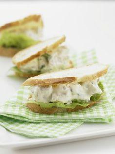 Easy Finger Sandwich Recipes | ... Chicken and Walnut Finger Sandwiches Recipe Detail - Dairy Australia
