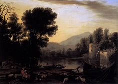 The Mill via Claude Lorrain