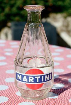 VINTAGE   French  water carafe  MARTINI 1960's par lojaVintage, €17,68