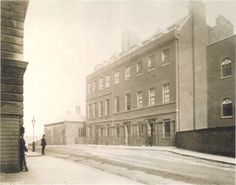 The most exclusive street in Britain, Downing Street, in 1896