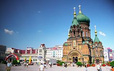 St Sophia Cathedral in Harbin, Heilongjiang, China