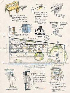 Le corbusier 39 s mothers house and garden buscar con for Le plan d une maison
