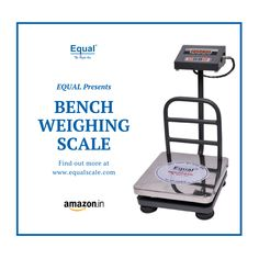 We believe in innovation for everyone, feel it with Bench Weighing Scale Exclusively on Weighing Scale, Red Led, Equality, Innovation, Bench, Feelings, Amazon, Digital, Social Equality