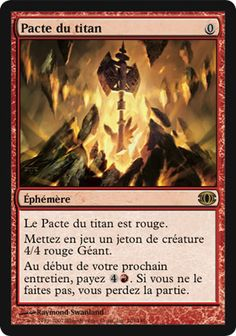 Pacte du titan - magic-ville.com