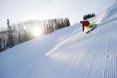 @AspenSnowmass has some of the best groomers around, ranked #4 in SKI's Resort Guide #Aspen #skiing #ski #winter #colorado