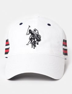 SIDE STRIPE BASEBALL CAP - U.S. Polo Assn. 1d46997b1271