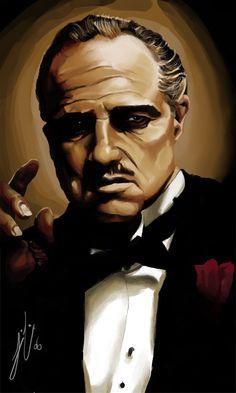 The Godfather by Nanto.deviantart.com on @DeviantArt