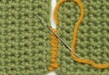 The art of seaming #crochet #stitch