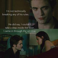Edward technically isn't breaking any rules.