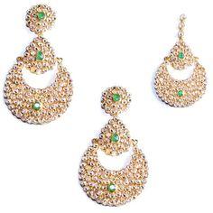 indian jewelry tikka set banita