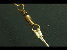 Fisherman's Knots Off shore Swivel Knot - YouTube