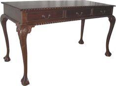 Wood Chippendale Desk