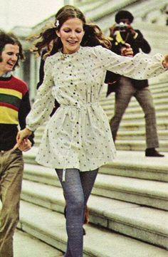 Fashion for Seventeen magazine, February 1972.