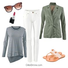 #CAbi - A classic American look. Get 30 spring outfits to wear now on our blog.