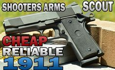 @jsellout A cheap 1911 for CCW?! - Shooters Arms Scout 1911 .45ACP Review - Guns.com