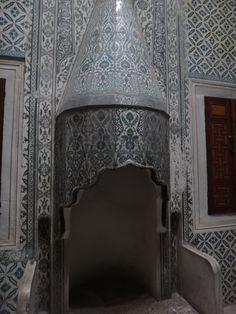 Topkapi fireplace