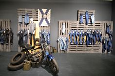 PANORAMA Berlin 2015 Winter – CAMP DAVID & SOCCX DENIM store design