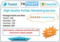 High Quality Twitter Marketing Service  #twitter #twittermarketing #socialmedia #socialmediamarketing #service #socialmediamarketingservice