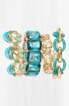 Pretty bracelets.