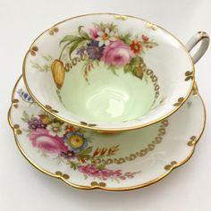 Vintage E.B Foley English china tea cup