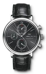 Portofino Chronograph  For more information on the IWC line of timepieces, please be sure to visit www.cdpeacock.com.