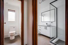 Modus Property 353 Sevenoaks St, Cannington WA 6107 1300-136-384 Bathroom Renovations Perth, Large Shower, Big Windows, Cabinet Makers, Double Vanity, Tub, Design, Home Decor, Bathtubs