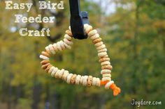 Girl Scout Bird Feeder Crafts