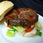Bacon Wrapped Hamburgers Recipe - #UltimateTailgate #Fanatics