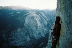malonebryson: Cauri standing an inch away from a 2000 foot drop...