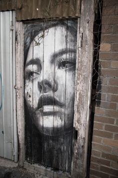 The female portraits of the australian street artist Rone - Graffiti Murals Street Art, 3d Street Art, Street Art Melbourne, Urban Street Art, Best Street Art, Amazing Street Art, Art Mural, Street Art Graffiti, Street Artists