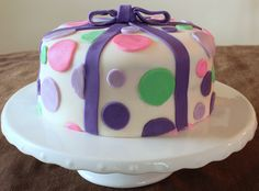 pinterest birthday cakes for girls | Polka Dot Cake | Sugar and Spice and All Things Iced