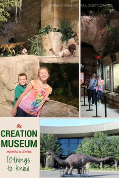 Have you ever wondered if there were dinosaurs on Noah's Ark? Have you thought about how the world was created? Have you wondered if aliens were real? Ever had questions from your kids that your days in Sunday School just didn't cover? Check out this blog on 10 things to know about the Creation Museum  :)