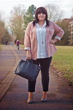 Plus Size Work Outfit - CONQUORE · The Fatshion Café Plus Size Blog