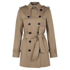 Buy Hobbs Sara Mac Coat Online at johnlewis.com